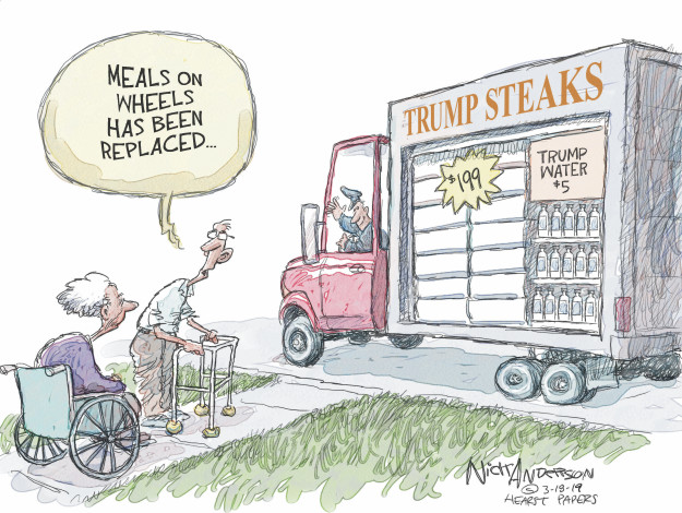 Nick Anderson  Nick Anderson's Editorial Cartoons 2017-03-19 management