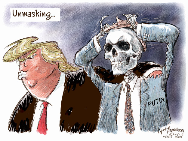 Cartoonist Nick Anderson  Nick Anderson's Editorial Cartoons 2017-04-05 Donald