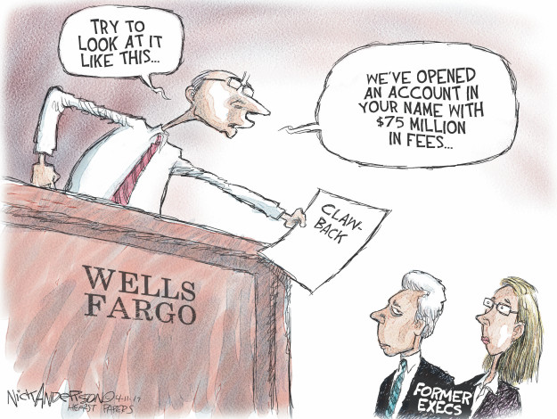 Cartoonist Nick Anderson  Nick Anderson's Editorial Cartoons 2017-04-11 million
