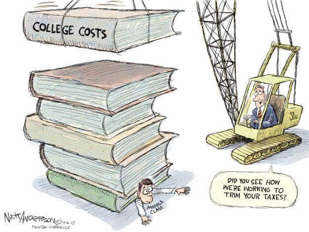 Cartoonist Nick Anderson  Nick Anderson's Editorial Cartoons 2017-04-16 education