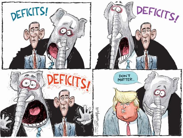 Cartoonist Nick Anderson  Nick Anderson's Editorial Cartoons 2017-04-27 Barack Obama
