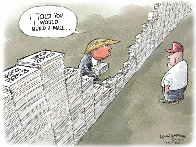 Cartoonist Nick Anderson  Nick Anderson's Editorial Cartoons 2017-05-02 broken