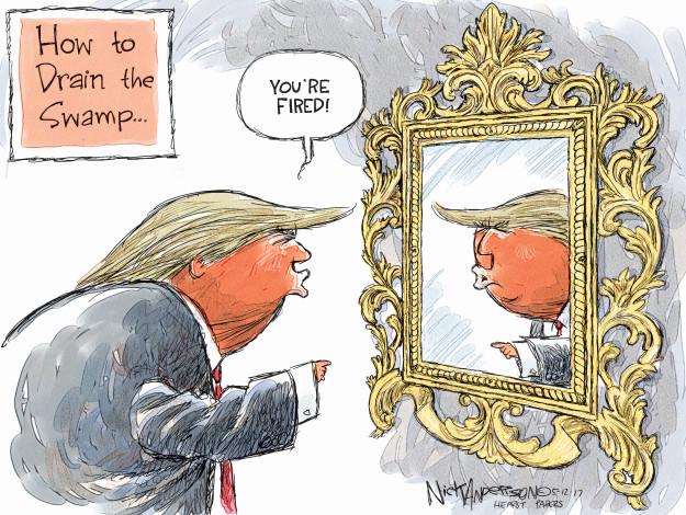 Cartoonist Nick Anderson  Nick Anderson's Editorial Cartoons 2017-05-12 editorial