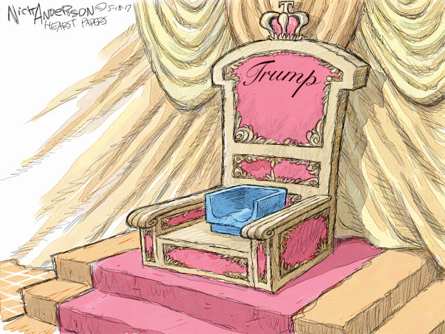 Cartoonist Nick Anderson  Nick Anderson's Editorial Cartoons 2017-05-18 Donald