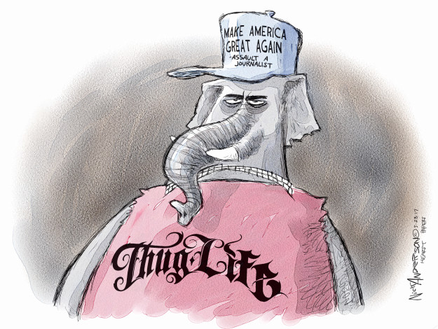 Cartoonist Nick Anderson  Nick Anderson's Editorial Cartoons 2017-05-27 make