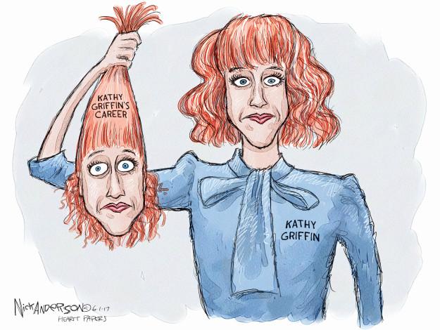 Cartoonist Nick Anderson  Nick Anderson's Editorial Cartoons 2017-06-01 criticism