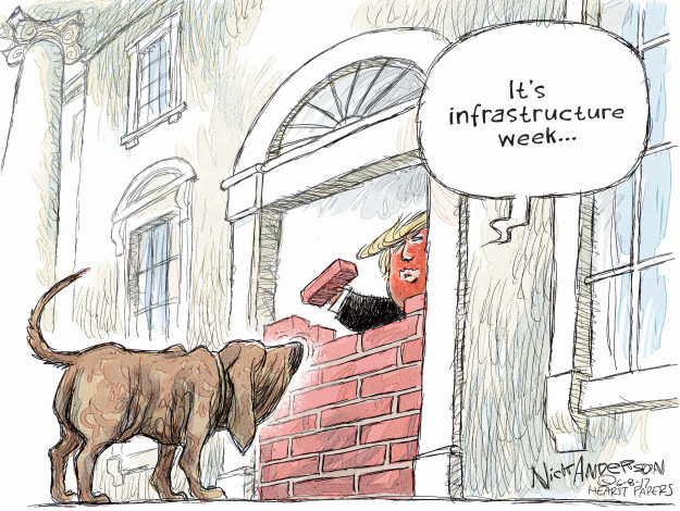 Its infrastructure week …