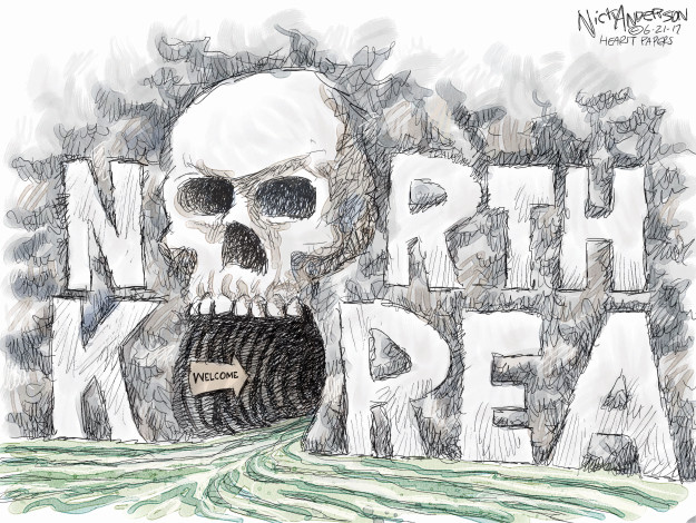 Cartoonist Nick Anderson  Nick Anderson's Editorial Cartoons 2017-06-21 student