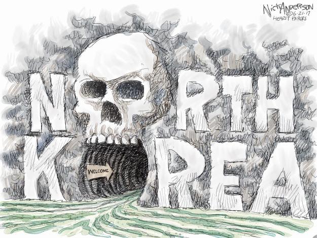 Cartoonist Nick Anderson  Nick Anderson's Editorial Cartoons 2017-06-21 student