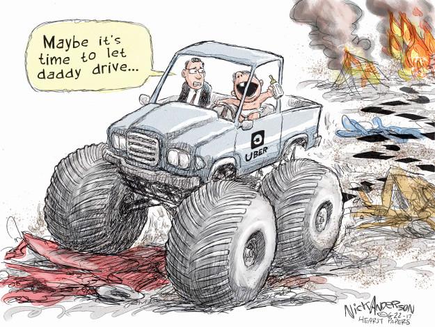Cartoonist Nick Anderson  Nick Anderson's Editorial Cartoons 2017-06-22 time