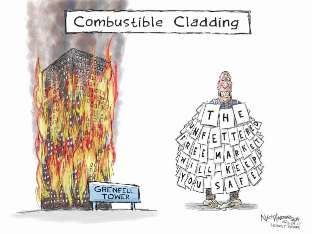 Cartoonist Nick Anderson  Nick Anderson's Editorial Cartoons 2017-06-29 regulation