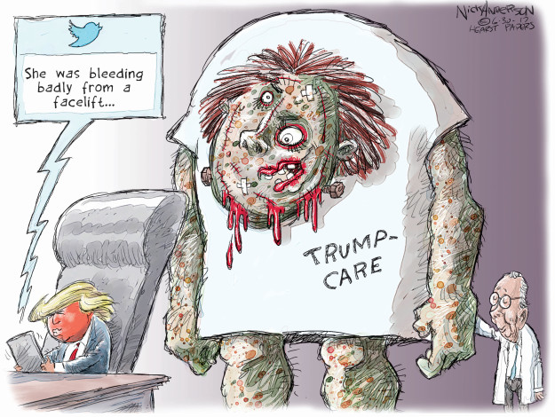 Cartoonist Nick Anderson  Nick Anderson's Editorial Cartoons 2017-06-30 editorial