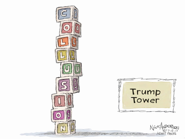 COLLUSION.  Trump Tower.