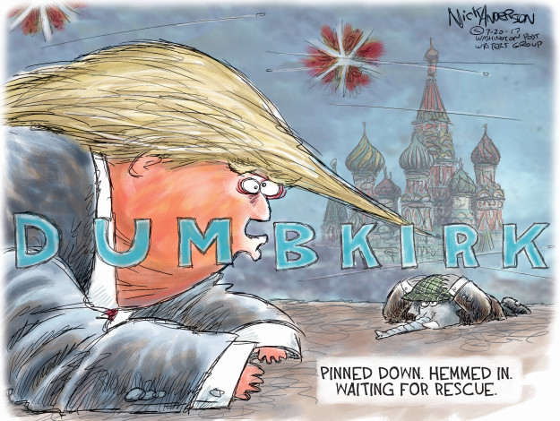 Cartoonist Nick Anderson  Nick Anderson's Editorial Cartoons 2017-07-20 Donald