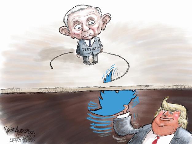 Nick Anderson  Nick Anderson's Editorial Cartoons 2017-07-28 Presidency