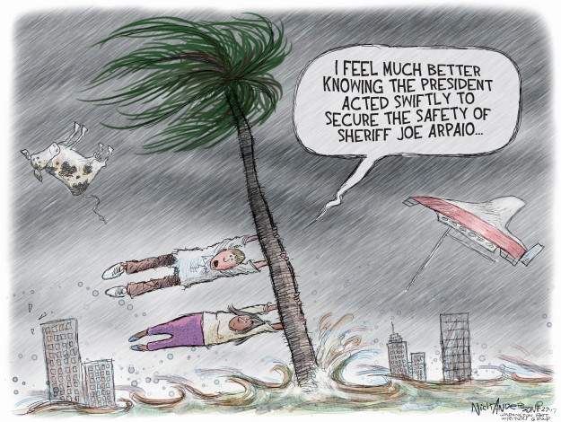 Nick Anderson  Nick Anderson's Editorial Cartoons 2017-08-27 feel better