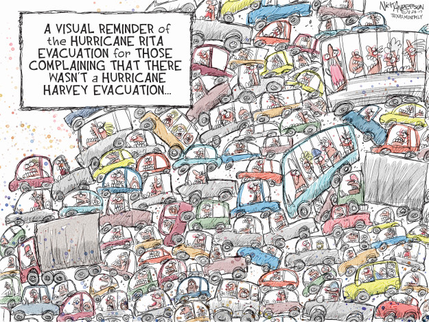 Cartoonist Nick Anderson  Nick Anderson's Editorial Cartoons 2017-08-29 hurricane