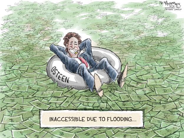 Cartoonist Nick Anderson  Nick Anderson's Editorial Cartoons 2017-08-31 Houston