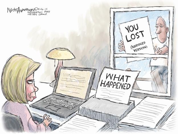 Cartoonist Nick Anderson  Nick Anderson's Editorial Cartoons 2017-09-16 editorial