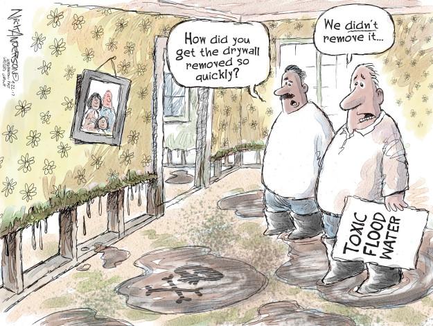 Cartoonist Nick Anderson  Nick Anderson's Editorial Cartoons 2017-09-22 hurricane