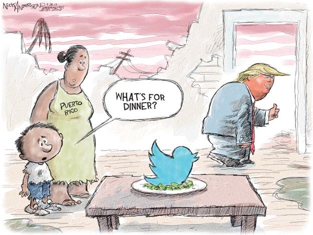 Nick Anderson  Nick Anderson's Editorial Cartoons 2017-09-29 Presidency