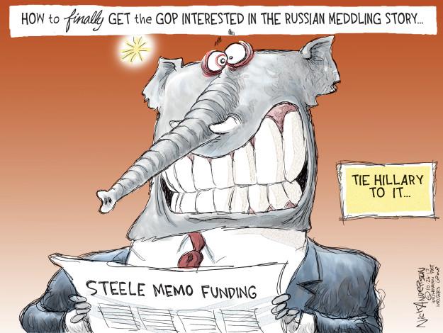 Cartoonist Nick Anderson  Nick Anderson's Editorial Cartoons 2017-10-26 president