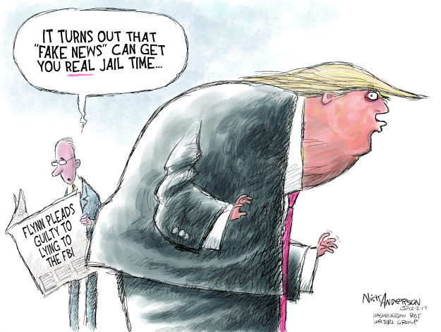 Cartoonist Nick Anderson  Nick Anderson's Editorial Cartoons 2017-12-02 Michael