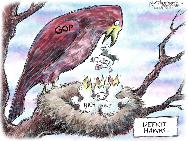 Cartoonist Nick Anderson  Nick Anderson's Editorial Cartoons 2017-12-05 legislative branch