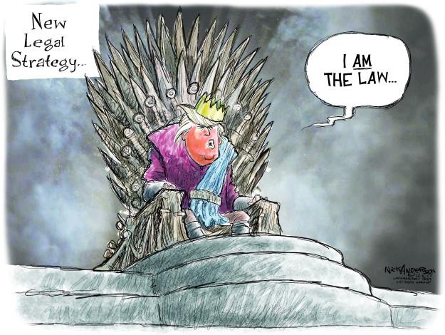 Cartoonist Nick Anderson  Nick Anderson's Editorial Cartoons 2017-12-06 president