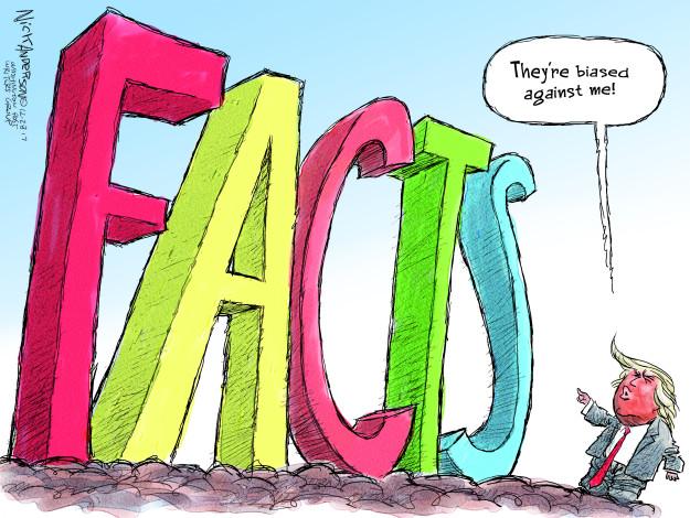 Cartoonist Nick Anderson  Nick Anderson's Editorial Cartoons 2017-12-28 Donald
