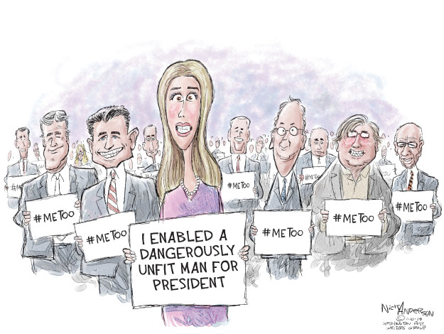 Cartoonist Nick Anderson  Nick Anderson's Editorial Cartoons 2018-01-10 cabinet