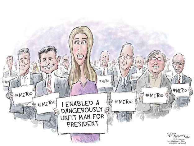 Cartoonist Nick Anderson  Nick Anderson's Editorial Cartoons 2018-01-10 Donald