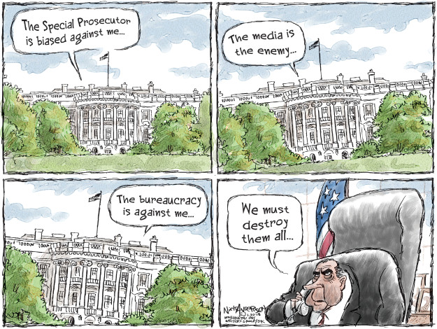 Cartoonist Nick Anderson  Nick Anderson's Editorial Cartoons 2018-01-30 Richard