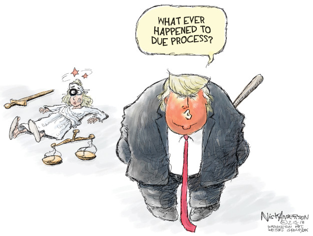 Cartoonist Nick Anderson  Nick Anderson's Editorial Cartoons 2018-02-13 abuse