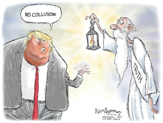 Cartoonist Nick Anderson  Nick Anderson's Editorial Cartoons 2018-02-21 Donald