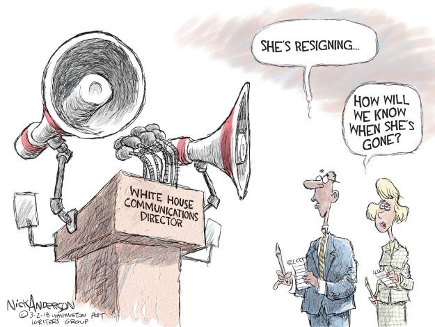 Cartoonist Nick Anderson  Nick Anderson's Editorial Cartoons 2018-03-02 Donald Trump