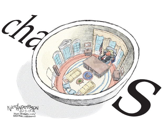 Cartoonist Nick Anderson  Nick Anderson's Editorial Cartoons 2018-03-17 Donald