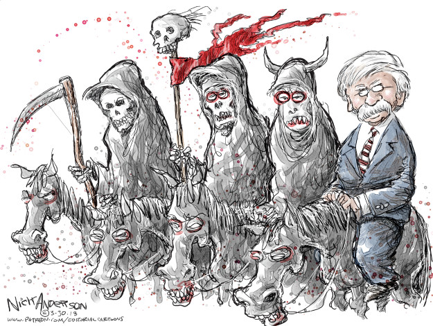 Cartoonist Nick Anderson  Nick Anderson's Editorial Cartoons 2018-03-30 cabinet