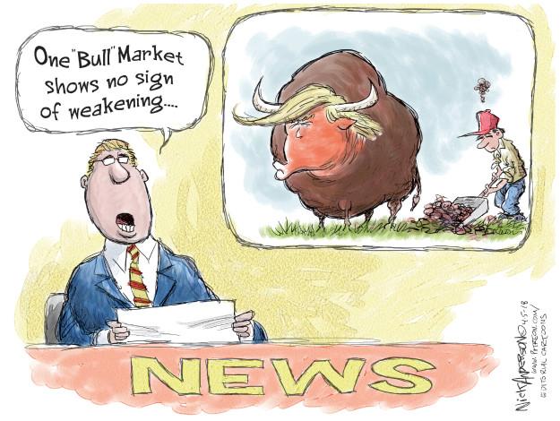 Nick Anderson  Nick Anderson's Editorial Cartoons 2018-04-06 stock market