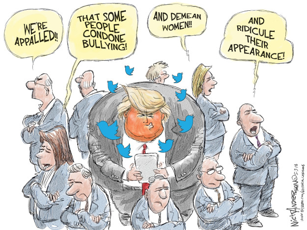 Cartoonist Nick Anderson  Nick Anderson's Editorial Cartoons 2018-05-03 appearance
