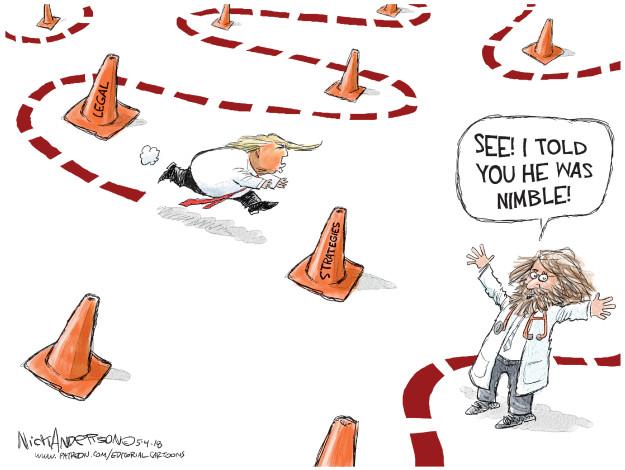 Cartoonist Nick Anderson  Nick Anderson's Editorial Cartoons 2018-05-04 medical