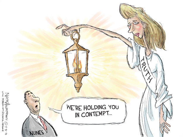 Cartoonist Nick Anderson  Nick Anderson's Editorial Cartoons 2018-05-08 republican politician