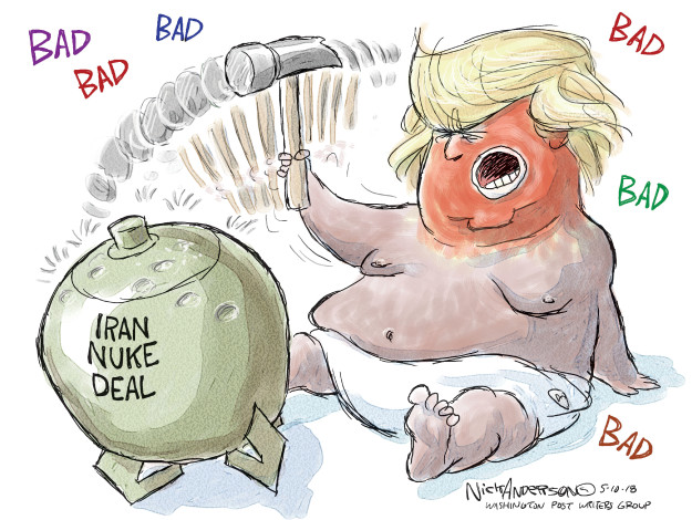 Cartoonist Nick Anderson  Nick Anderson's Editorial Cartoons 2018-05-10 editorial