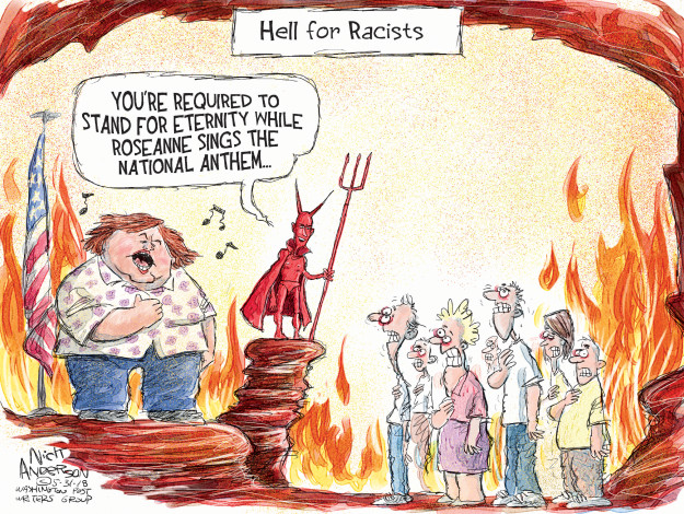 Cartoonist Nick Anderson  Nick Anderson's Editorial Cartoons 2018-05-31 show