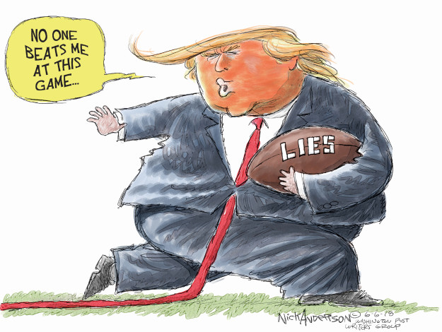 Cartoonist Nick Anderson  Nick Anderson's Editorial Cartoons 2018-06-06 football