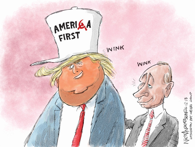 Cartoonist Nick Anderson  Nick Anderson's Editorial Cartoons 2018-06-12 influence