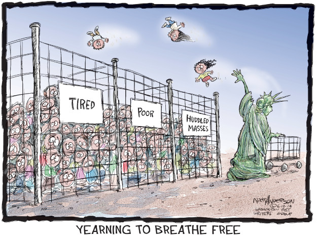 Nick Anderson  Nick Anderson's Editorial Cartoons 2018-06-19 policy