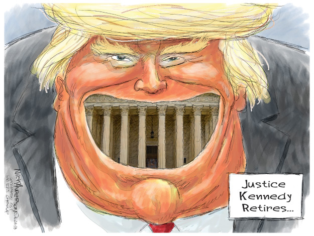 Nick Anderson  Nick Anderson's Editorial Cartoons 2018-06-28 judge