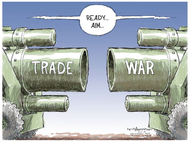 Trade War. Ready.  Aim.