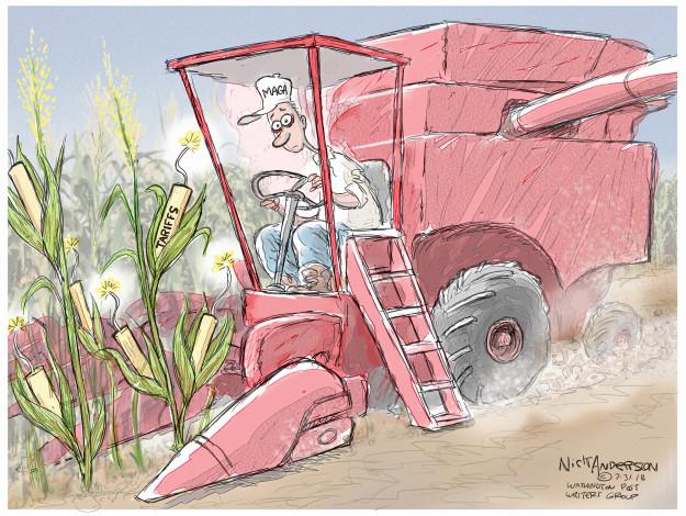 Nick Anderson  Nick Anderson's Editorial Cartoons 2018-07-31 economy